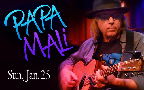 Papa Mali in Shreveport: House Concert Series, Sun, Jan 25