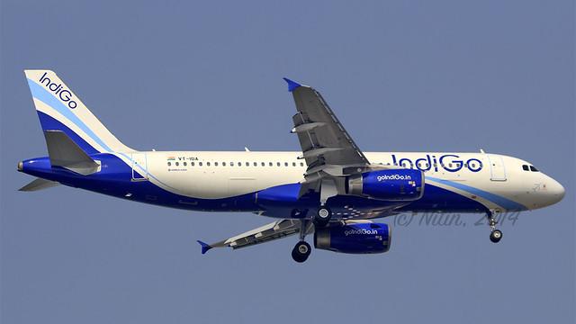 Indigo A320 VT-IDA