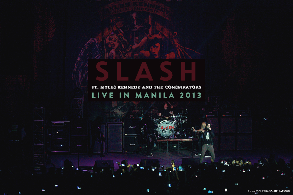 Slash Live in Manila