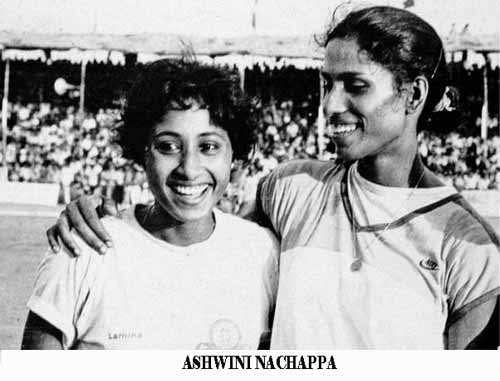 Ashwini Nachappa Indian Sports