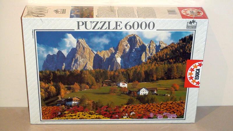 6.000 - Educa - Villnoss Valley, Dolomites - Italy