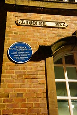 Photo of Frederick Rowland Emett blue plaque