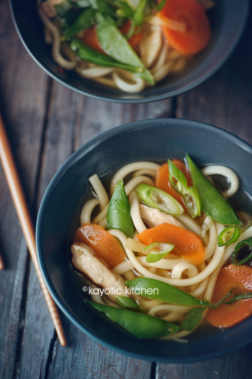 Miso Udon Noodle Soup « Kayotic Kitchen