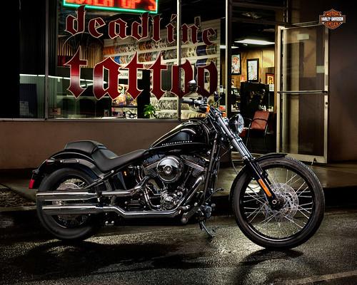 Harley Davidson Bikes 2012 4K Images