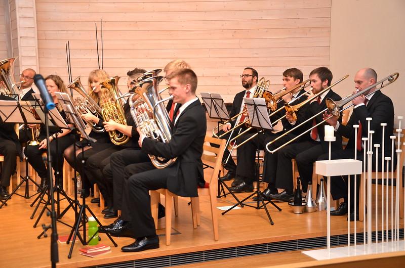 BK:s Euf och trombon-sektion