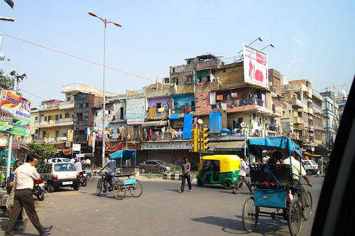 India - colourful building
