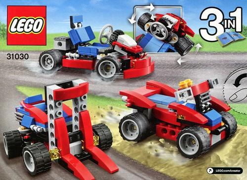 LEGO Creator 31030 Red Go-Kart box03