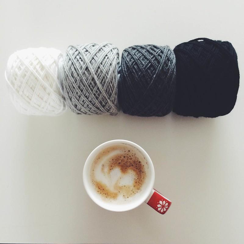Ombré yarn