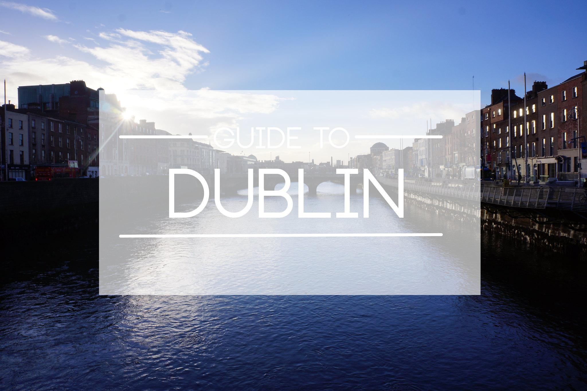 DUBLIN COVER