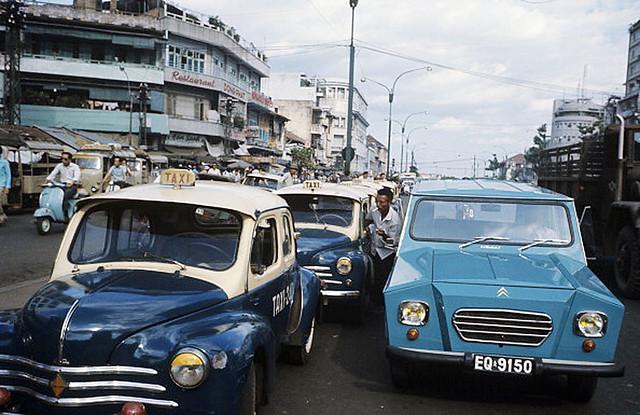 SAIGON 1974 - Ham Nghi Blvd - ngã tư Hàm Nghi-Tôn Thất Đạm