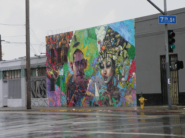 Who is david choe for David choe mural