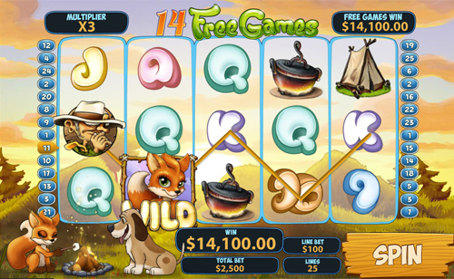 free Foxy Fortunes free spins