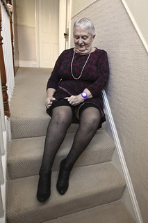 Frocks on the stairs 61/1.