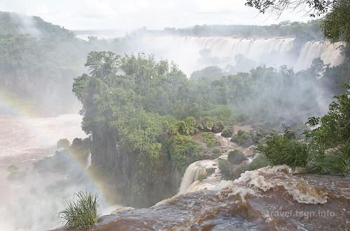 【写真】世界一周 : イグアスの滝・アッパートレイル