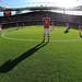 Arsenal midfielder Mesut Ozil, pre match by Stuart MacFarlane