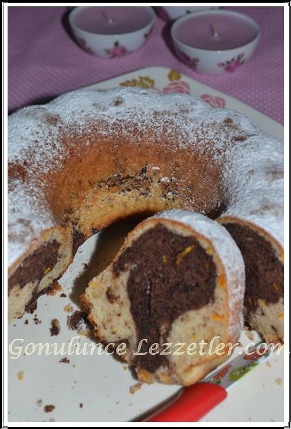 portakallı kek 1