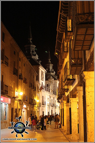 Calle Mayor de de El Burgo de Osma (Soria)