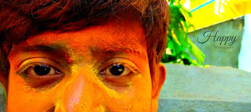The color of Holi...