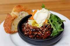 20150302-05-Black beans in tomato chutney at Tricy…