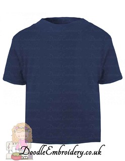 T-shirt - Navy copy