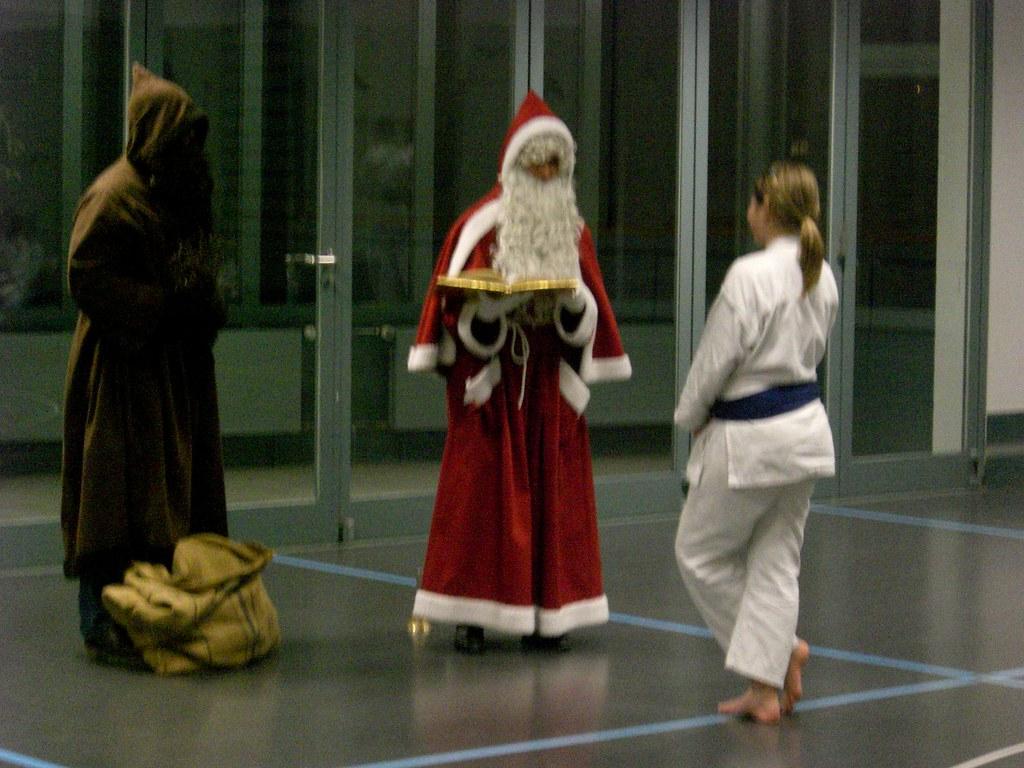 2008 Der Samichlaus besucht uns