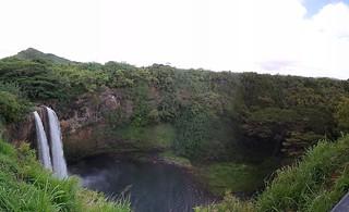 Wailua Falls Panorama