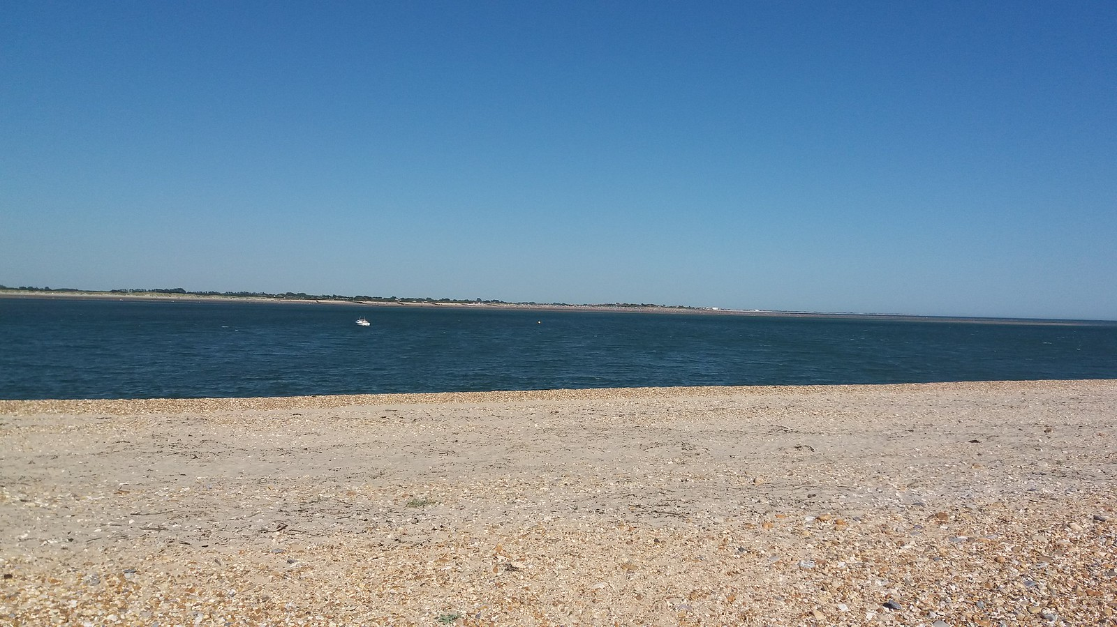 20160719_170721 Eastoke Point, looking across Chicjester harbour entrance towards West Wittering