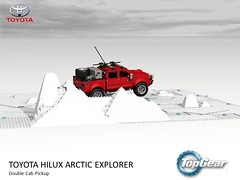 Toyota Hilux - TopGear Arctic Special