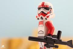 Imperial Shocktrooper on patrol
