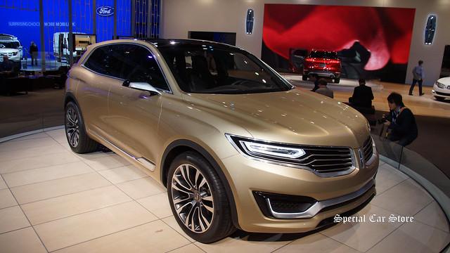 Lincoln MKX Concept: