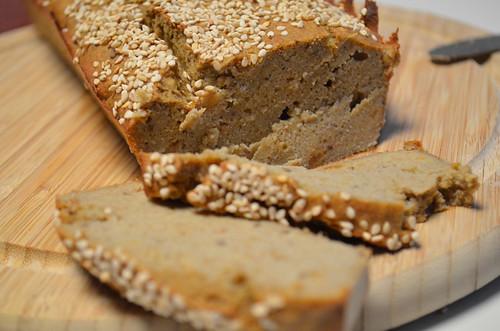 receta de banana bread paleo