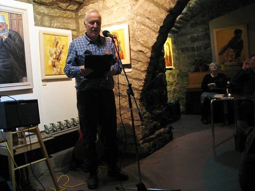"Shore Poets vs Be The First To Like This ""Quiet Slam"" for Book Week Scotland: Andrew Sclater"