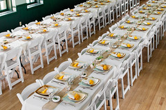 meal(0.0), wedding(0.0), party(0.0), ballroom(0.0), ceremony(0.0), function hall(1.0), centrepiece(1.0), buffet(1.0), banquet(1.0), rehearsal dinner(1.0), aisle(1.0),