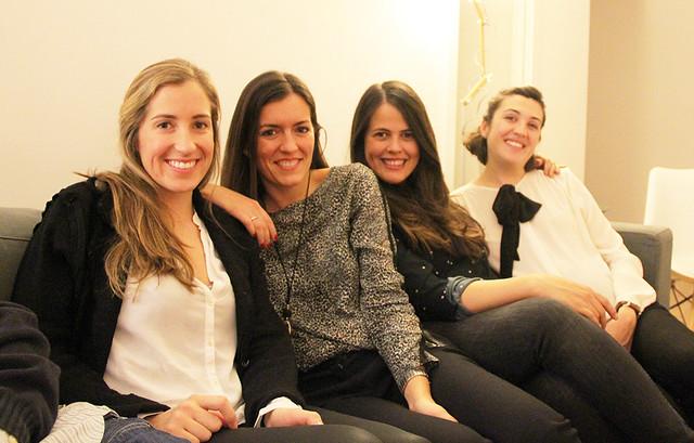 Cena con amigos en casa - Monicositas