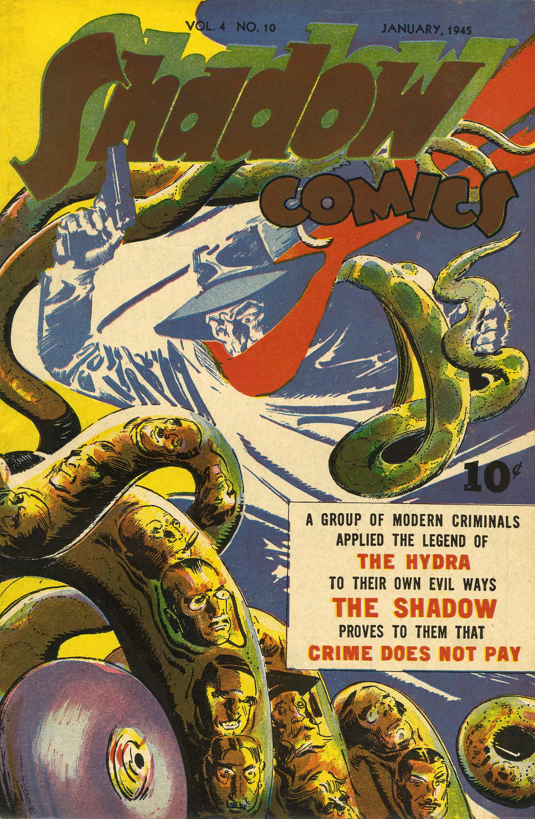 Shadow Comics Vol. 4, #10 (Street & Smith, 1945)