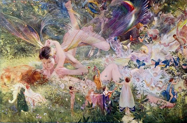 Charles Sims  (British, 1873–1928),