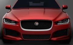 wheel(0.0), automobile(1.0), automotive exterior(1.0), vehicle(1.0), performance car(1.0), automotive design(1.0), grille(1.0), bumper(1.0), jaguar xf(1.0), land vehicle(1.0), luxury vehicle(1.0),