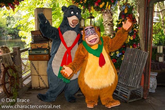 King Louie and Baloo