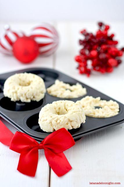 coroncine cioccolato bianco e riso soffiato4