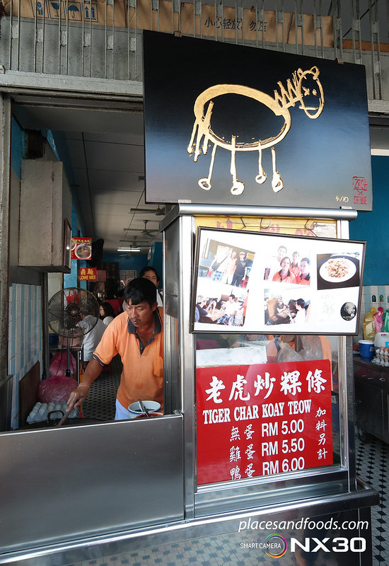 tiger char kuey teow penang stall