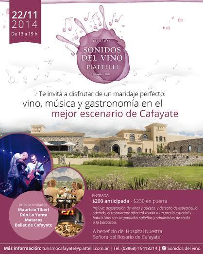 Cafayate: Llega la Primera Edición de Sonidos del Vino en Bodega Piattelli