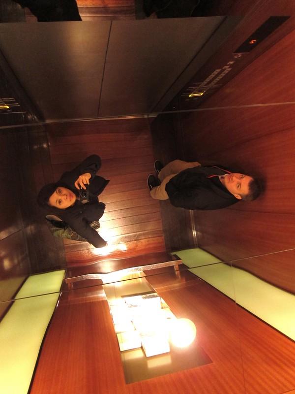 Jeroen and I at Grand Hyatt Tokyo