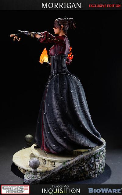 闇龍紀元Dragon Age 荒野女巫 莫莉根 雕像