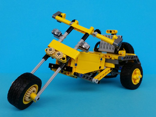 MOC][MOD] TRIKE MOTORCYCLE (42035 Model C) - LEGO Technic ...