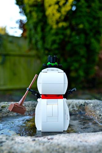 Snowman butt