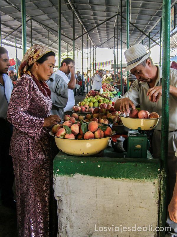 valle de fergana mercado de Osh