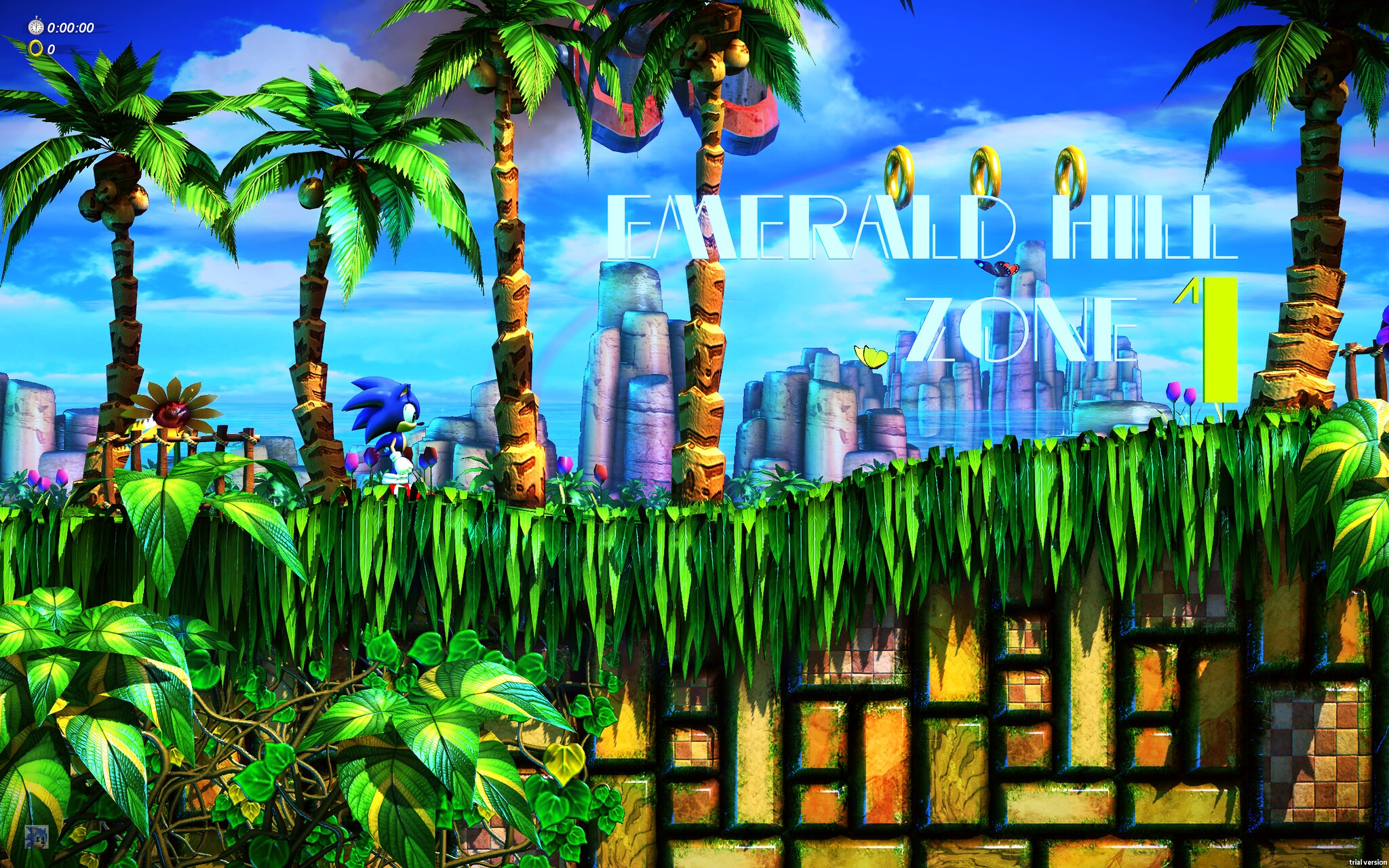 Emerald Hill Zone 2 HD Wallpaper • GamePhD