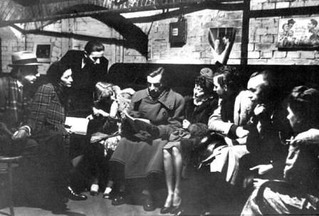Refugio antiaéreo en Berlín