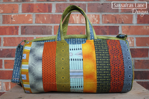 Daily Duffle in Parson Gray Fabric