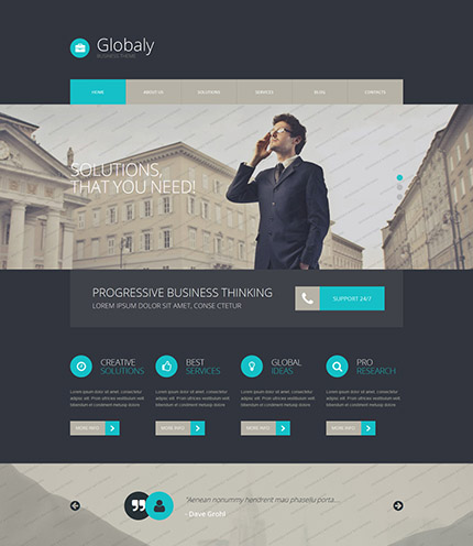 Unbelievable 30 free website templates accmission Gallery
